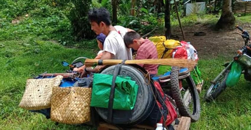 95 Manobo families flee as military operations heighten in Surigao Sur