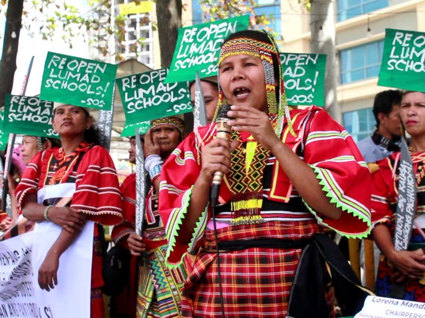 Indigenous women commemorate Women's Day with vow to assert rights
