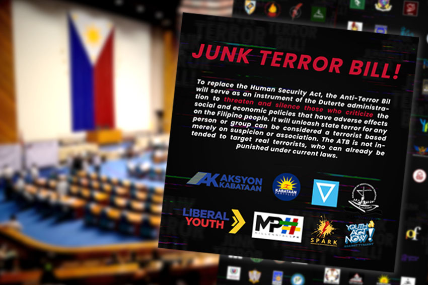 Davao student councils, editors sign national statement vs 'terror bill'
