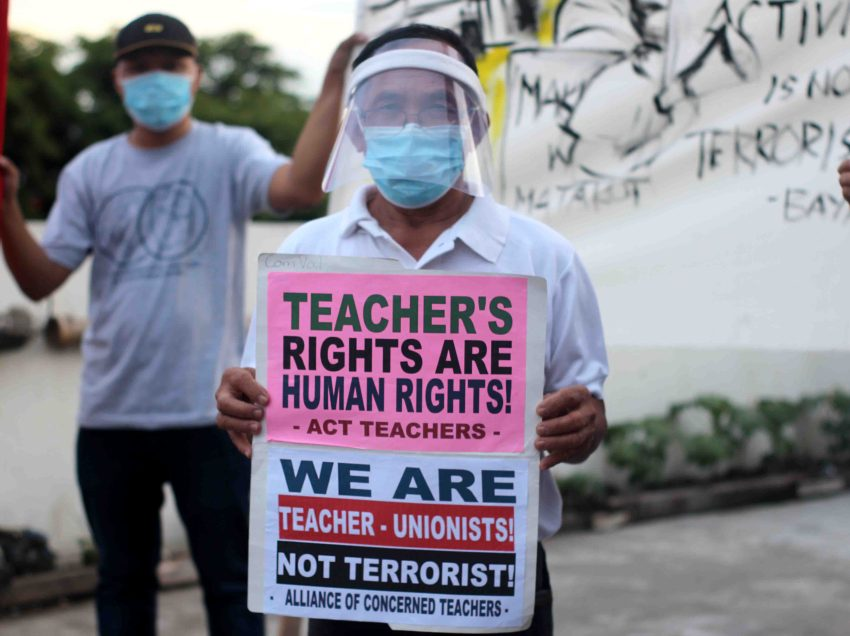 On Teachers' Month, ACT urges gov't response to concerns in pandemic