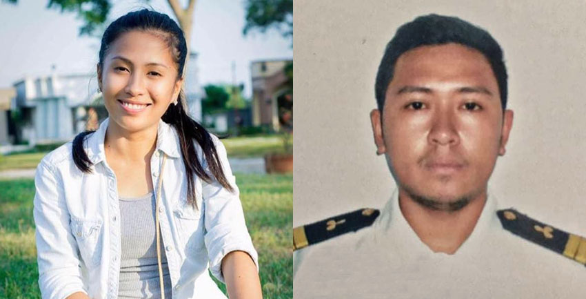 Fiancé hopeful seaman is alive in September 2 shipwreck in Japan seas