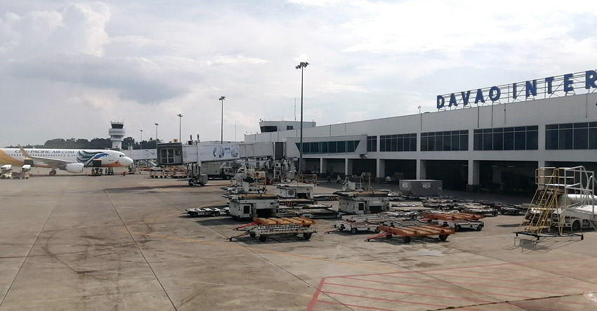 Davao suspends free swab tests for airport passengers