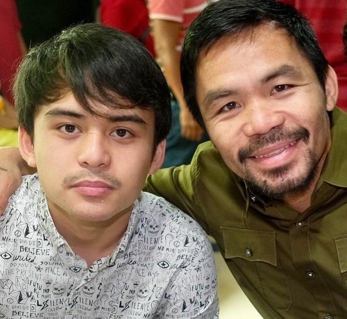 Pacquiao son enters politics as partylist leader