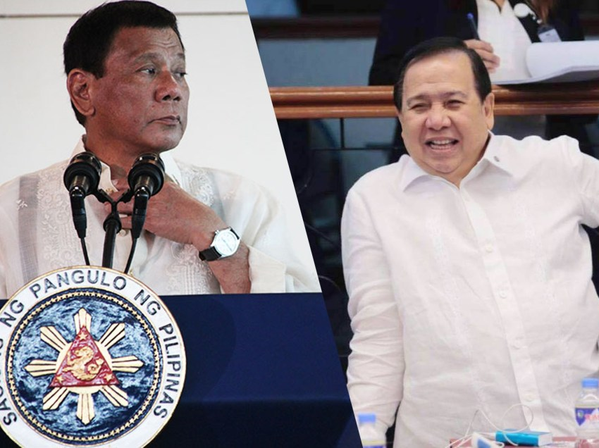 Dick to Digong: Spare Red Cross, hit me instead