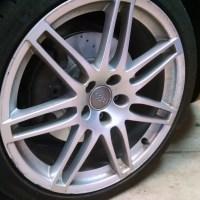 2011 Audi A4:  Installing New Brake Pads and Rotors