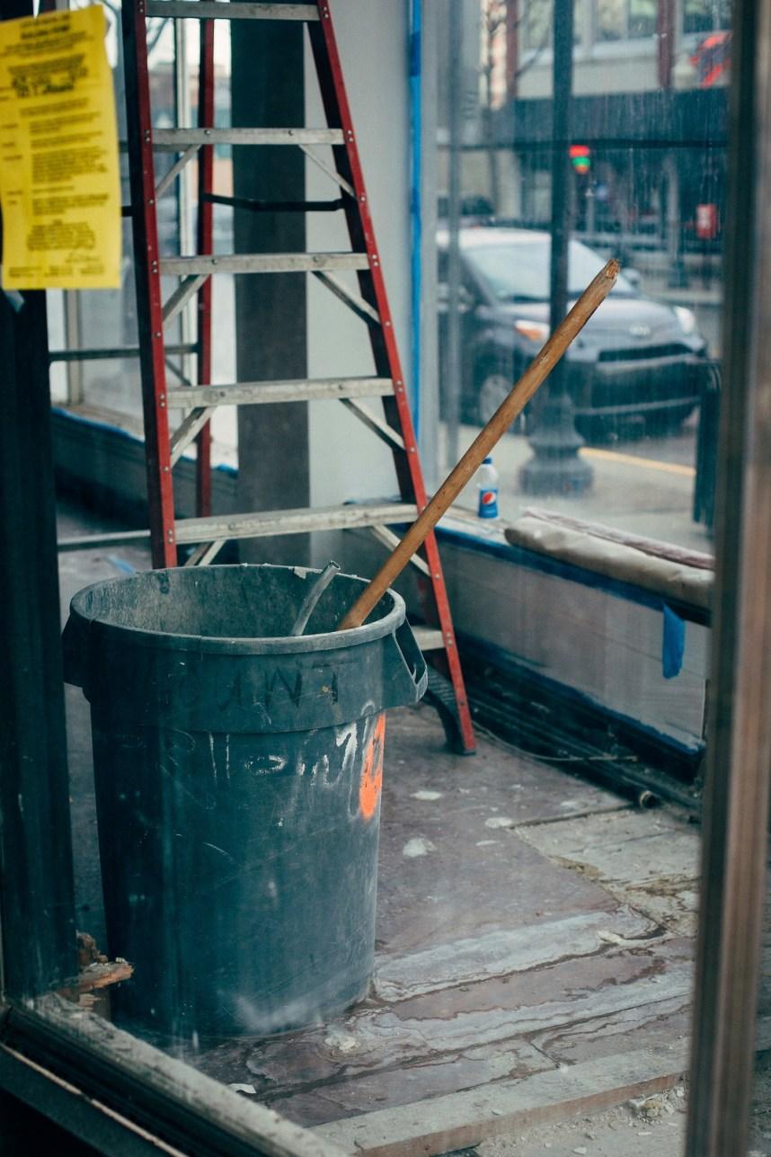 Barrels In a Window