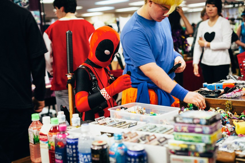 Deadpool, Shopping