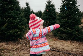 Tree Shopping - Madelyn