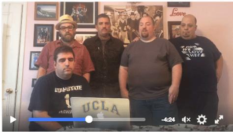 Olson boys send video dispatch about Mom