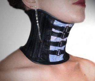 girl in slaves collars