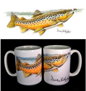 Whitlock Art Mug - brown