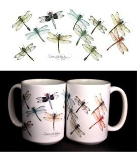 Dragonfly ART Mug