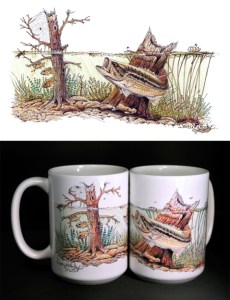Largemouth Lair ART Mug
