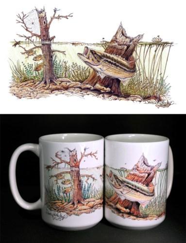 Largemouth Lair ART Mug