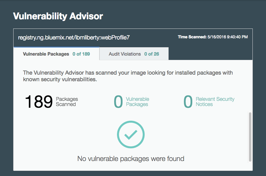 Vulnerabilty Advisor