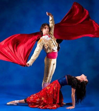 "State Street Ballet - Dancers in William Soleau's ""Carmen"" publicity photo 10/2/07"