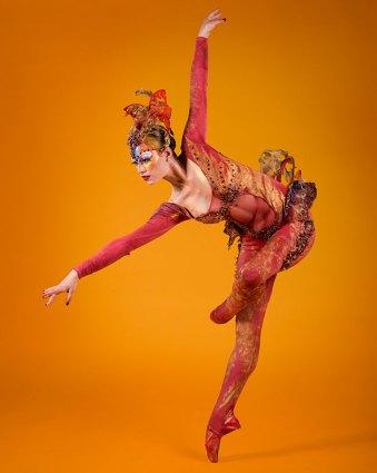 """State Street Ballet """"Firebird"""" publicity photo 6/25/12"""
