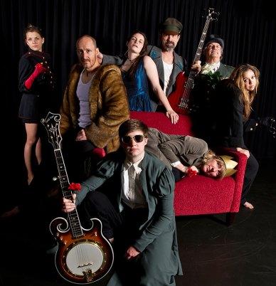 """Lit Moon Theatre Co. - """"Henry VI"""" publicity photo 2/4/12"""