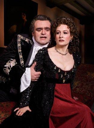 "Opera Santa Barbara, Singers in ""Tosca"" publicity photo 2/1/06"