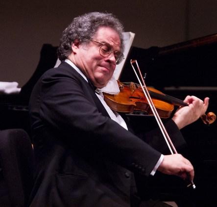 Itzhak Perlman, CAMA Santa Barbara 1/15/03 Arlington theater