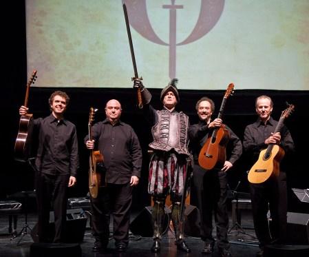 """John Cleese & the LA Guitar Quartet - """"Don Quixote"""" 3/25/09 Lobero Theatre"""