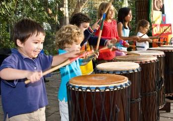 Santa Barbara Zoo - Dancing Drum @ Zoo-B-Q 9/14/11
