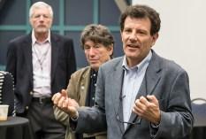 UCSB Arts & Lectures - Nicholas Kristof meet & greet 11/13/14 Corwin Pavillion