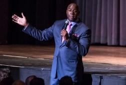 UCSB Arts & Lectures - Magic Johnson 10/24/14 Arlington Theatre