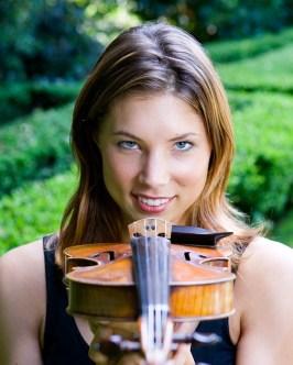 Violinist Sarah Whitney 2005 Miraflores, Santa Barbara, CA