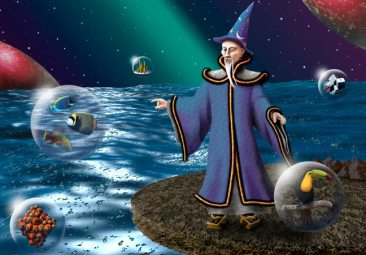The Wizard of Ahhhs makes magical balls
