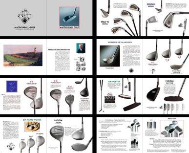 Brochure for MacDougall Golf