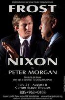 """Frost/Nixon"" flyer - DIJO Productions"