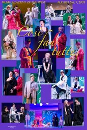 """Photo Poster from """"Cosi Fan Tutti"""" - Music Adacemy of the West"""