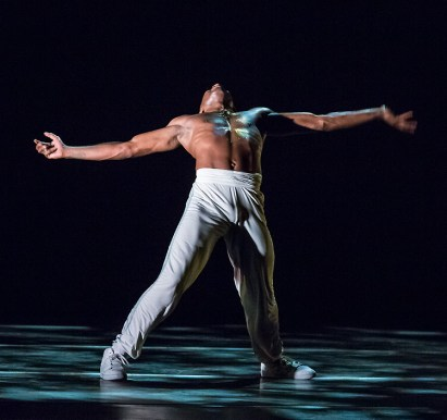 AAADT's Michael Jackson Jr. in Rennie Harris' Exodus. Photo by David Bazemore