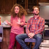 "Eden Malyn (Daphna) and Adam Silver (Liam) - Ensemble Theatre Co. ""Bad Jews"" 4/13/16 Alhecama Theatre"