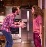 """Adam Silver (Liam) and Eden Malyn (Daphna) - Ensemble Theatre Co. """"Bad Jews"""" 4/13/16 Alhecama Theatre"""