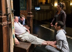 Stage Director Fenlon Lamb wants to make sure the dead guy isn't hurt any more