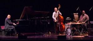 The Kenny Barron Trio on the stage of the historic Lobero Theatre in Santa Barbara, CA 4/18/2016