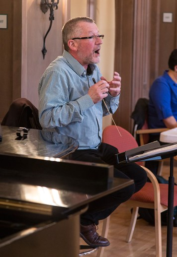 "Maestro José Luis Moscovich, Opera Santa Barbara'sproduction of Puccini's ""Giannin Schicchi"" 3/30/16 Weinman Hall, MAW"