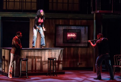 """Guns aren't the answer - """"We Want the Funk"""" - UCSB Theater & Dance 5/27/16 Hatlen Theater"""