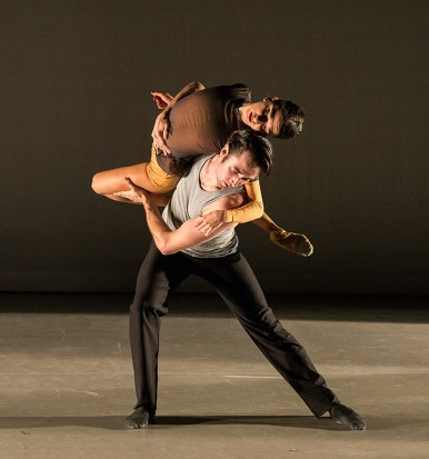 "State Street Ballet - Lilit Hogtanian & Jack Stewart in ""The Desperate Ones"" by Andrea Schermoly 5/14/16 New Vic theatre"