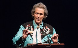 Author, Professor and Autism Spokesperson Temple Grandin - UCSB Arts & Lectures 5/10/16 Granada Theatre