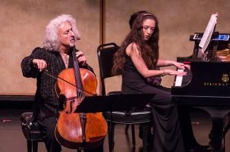 CAMA Santa Barbara - Misha Maisky accompanied by Lily Maisky 5/12/16 Lobero Theatre