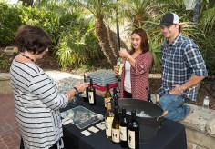 Santa Barbara Chamber Orchestra Supper Club - Refugio Ranch Vinyards 5/17/16 Lobero Theatre courtyard