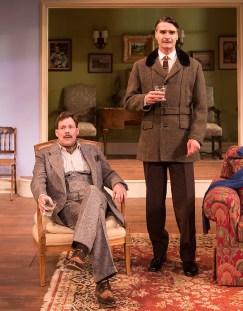 Joseph Fuqua (Fred Sterroll) & Matthew Floyd Miller (Willy Banbury) - Ensemble Theatre Company 6/1/16 New Vic Theatre