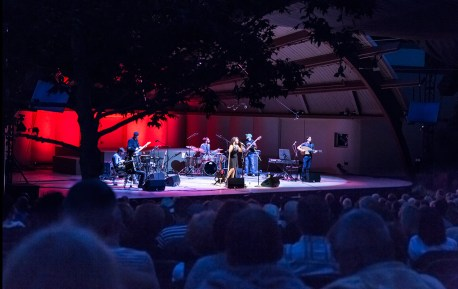 Ojai Music Festival - Dina El Wadidi and Band, The Sounds of Tahrir Square, Cairo 6/10/16 Libbey Bowl