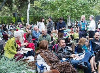 Ojai Music Festival - all ages attend 6/11/16 Libbey Bowl