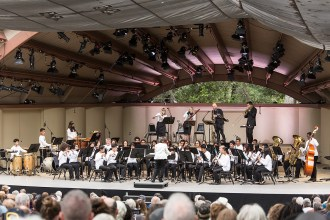 Ojai Music Festival - ICE, YOLA at HOLA, conducted by Tania Leon 6/12/16 Libbey Bowl