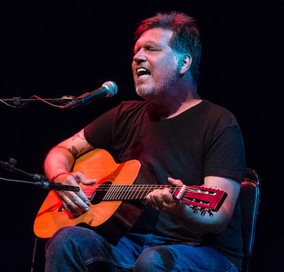 Singer/songwriter Richard Buckner- Sings Like Hell 7/16/16 Lobero Theatre
