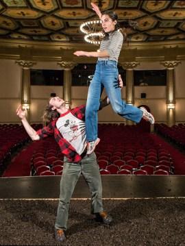 onstage @ the Lobero Theatre 9/13/16 Santa Barbara, CA